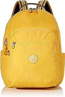 Kipling SEOUL Sac à Dos Loisir, 44 cm, 27 Liters, Jaune (Vivid Yellow)