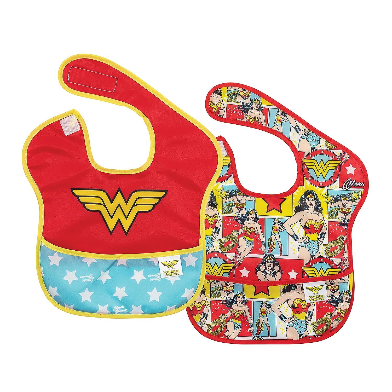Bumkins DC Comics Wonder discount Woman W Baby Waterproof Bib Genuine Free Shipping SuperBib