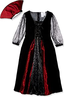 Goth Maiden Vampiress Kids Costume