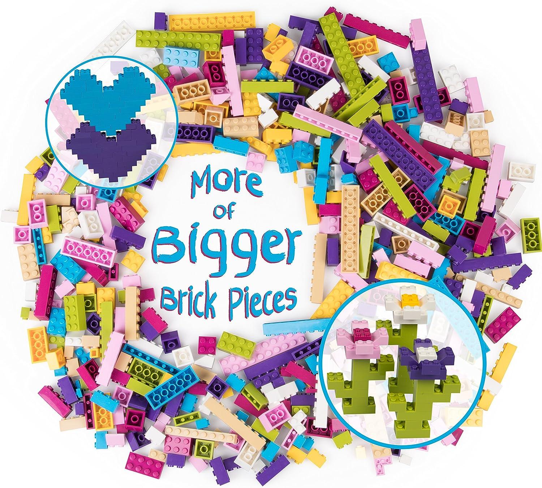 artículos de promoción SCS Direct Ladrillos de construcción - 500 Pc Big Big Big Bag de Ladrillos  edición limitada