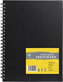 10 sheet A5 kids colourful rainbow Engraving scratch art Pad binded notebook UK