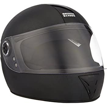 Studds Chrome Elite SUS_CEFFH_BLKXL Full Face Helmet (Black, XL)