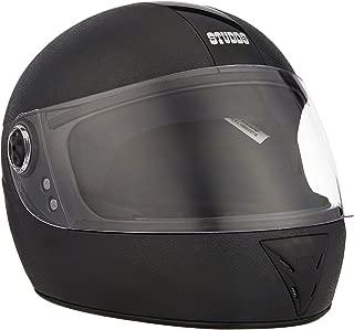 Studds Chrome Elite SUS_CEFFH_BLKXL Full Face Helmet (Black, XL)