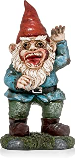 Patio Eden - Zombie Garden Gnome - Funny Novelty Item - 11 x 5 Inches