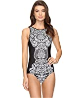 Jantzen - Damask High Neck One-Piece