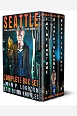 Seattle Paranormal Police Department Complete Box Set Kindle Edition