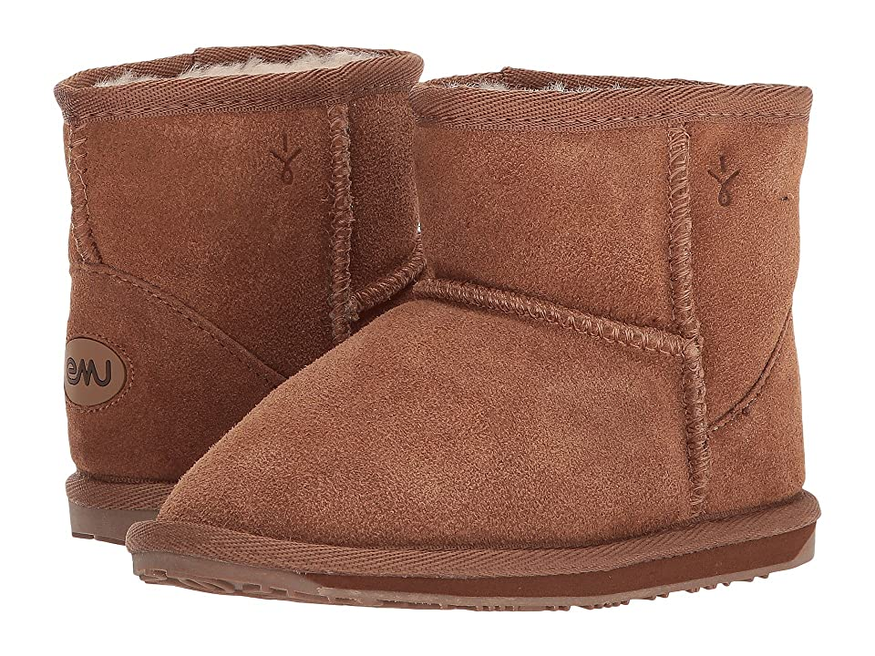 EMU Australia Kids Wallaby Mini (Toddler/Little Kid) (Chestnut) Kids Shoes