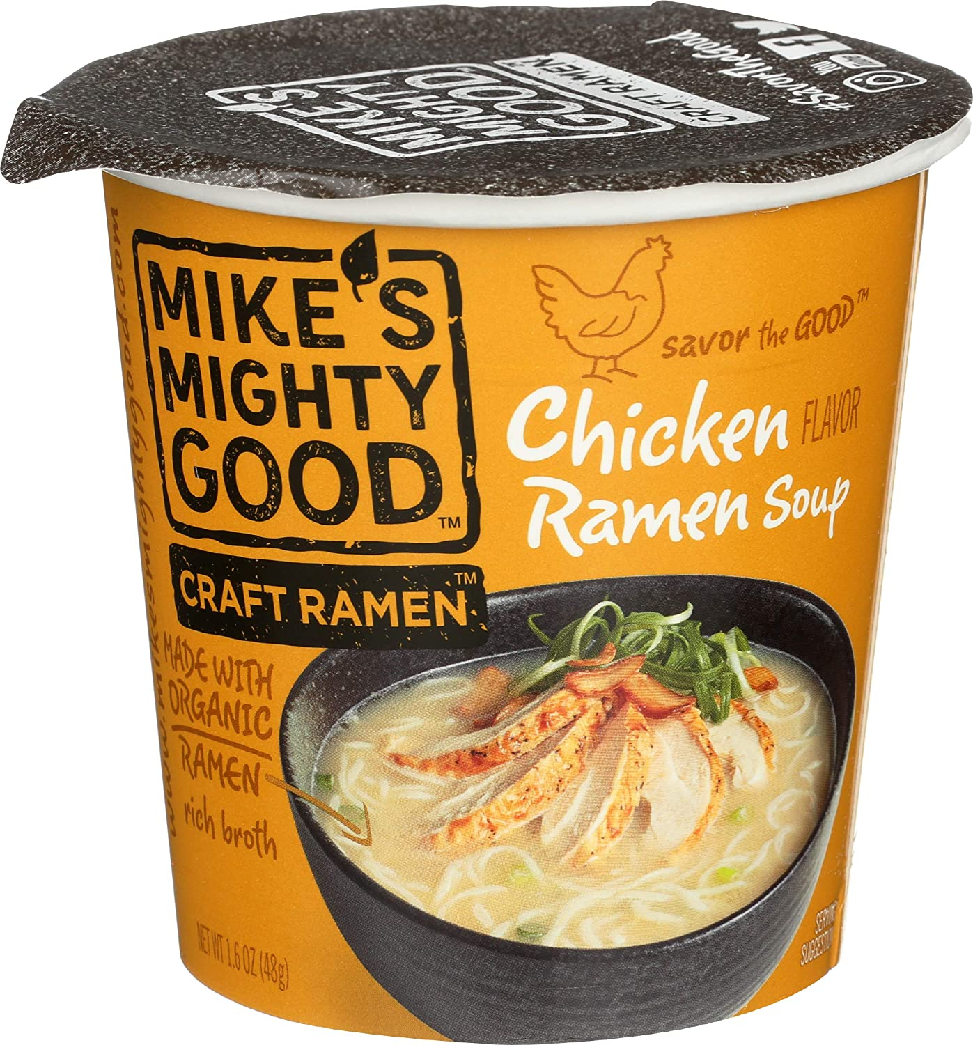 MIKE'S MIGHTY GOOD SOUP OG3 RAMEN CUP Pack shopping El Paso Mall - of CHICKEN 6