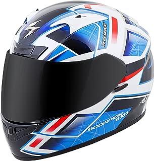 Scorpion EXO-R710 Unisex-Adult Full Face Motorcycle Helmet (Blue, X-Large) (Fuji)