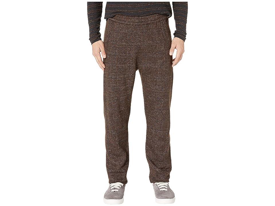 Image of Billy Reid Stanton Pants (Brown/Black) Men's Casual Pants