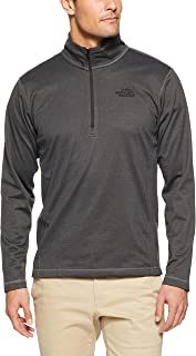 The North Face Men's Tech Glacr 1/4 Zip, Tnfdkgryhtr, Small