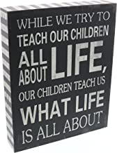 Barnyard Designs Our Children Teach Us What Life is All About Wooden Box Wall Art Sign,..