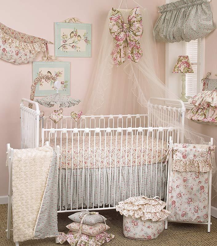 Cotton Tale Designs Tea Party Bedding Set 7 Piece