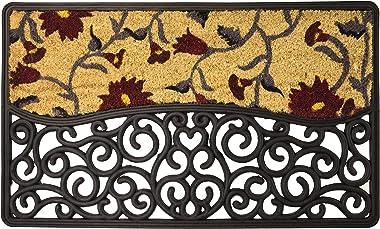glooke Selected Doormat, Rubber, Multicoloured, One