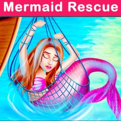 Enjoy the amazing love story of the mermaid Celebrate mermaid's birthday in this mermaid love story game Do fishing and capture different fishes Fix the aquarium cage for mermaid Fix the magical ring for mermaid