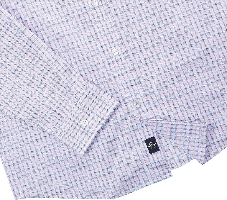 Dockers Men's Long Sleeve Slim Poplin Woven Shirt