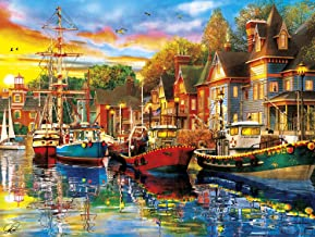 Buffalo Games - Reflections - Harbor Lights - 750 Piece Jigsaw Puzzle