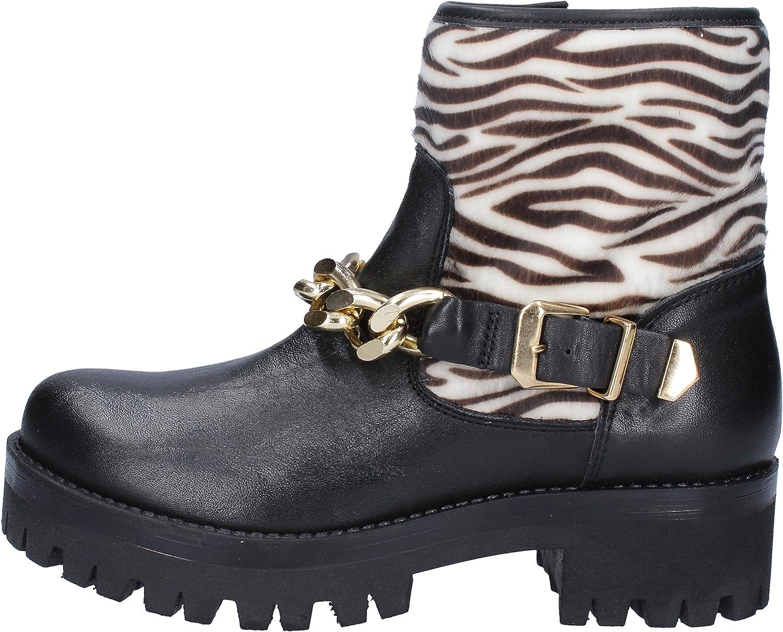 Lea Foscati Boots Womens Leather Black