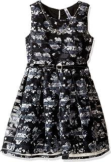 فستان متزلج بخطوط شفافة كبيرة للفتيات من Beautees