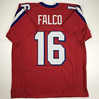 Unsigned Shane Falco Washington Sentinels Red Custom Stitched Football Jersey Size Men`s XL New No Brands/Logos