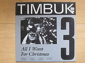 All I Want for Christmas b/w Medley: Blue Christmas/I Love You X3 (12 inch vinyl single)