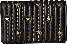 Star Stud Slim Medium Wallet