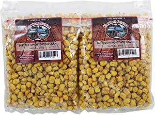 Backroad Country Buffalo Ranch Toasted Corn Nuts, 8 Ounce Bag (Pack of 2)