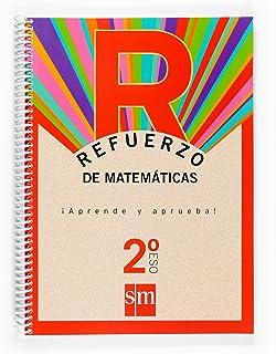 Refuerzo de matemáticas. ¡Aprende y aprueba! 2 ESO - 9788467512144