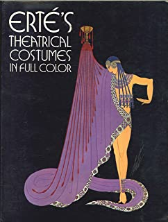 ERTÉ' THEATRICAL COSTUMES IN FULL COLOR.