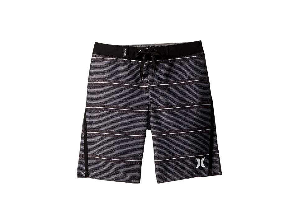 Hurley Kids Shoreline Boardshorts (Big Kids) (Black) Boy