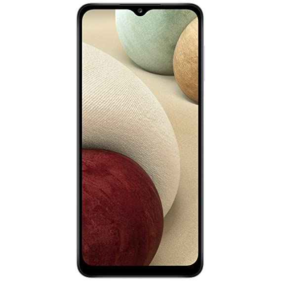Samsung Galaxy A12 (White,4GB RAM, 64GB Storage) with No Cost EMI/Additional Exchange Offers