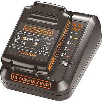 BLACK+DECKER BDC1A15-QW - Pack bateria de litio 18V de 1.5Ah y cargador de 1Ah: Amazon.es: Bricolaje y herramientas