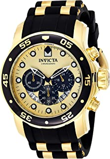 Invicta Silver Dial Polyurethane Band Watch - 24852