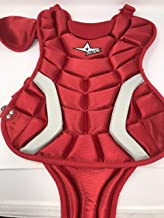"""All-Star New Player's Series Youth 7-9 Chest Protector 13.50"""" CP79PS Red/White"""