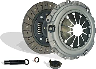 Clutch Kit Works With Set Acura Csx Rsx Civic Type-S Si Base Coupe 2-Door Sedan 4-Door 2006-2011 2.0L l4 GAS DOHC Naturally Aspirated (6 Speed Trans; Flywheel Spec: 0.047+)
