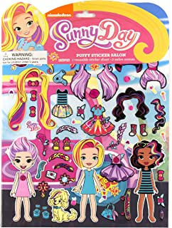 Sunny Day Puffy Sticker Salon by Horizon Group USA, Multicolor
