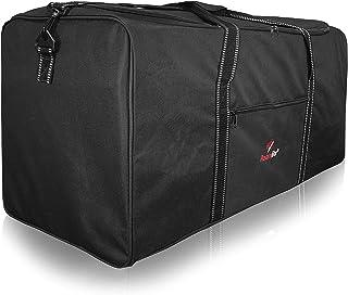 R30K - Bolsa de deporte (poliéster, 76 cm, 100 L), color negro