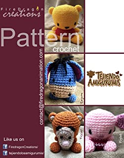 Magic Hands Pattern Collection V.2: Winnie Pooh Set (Pooh, Tigger, Pigglet and Eeyore)