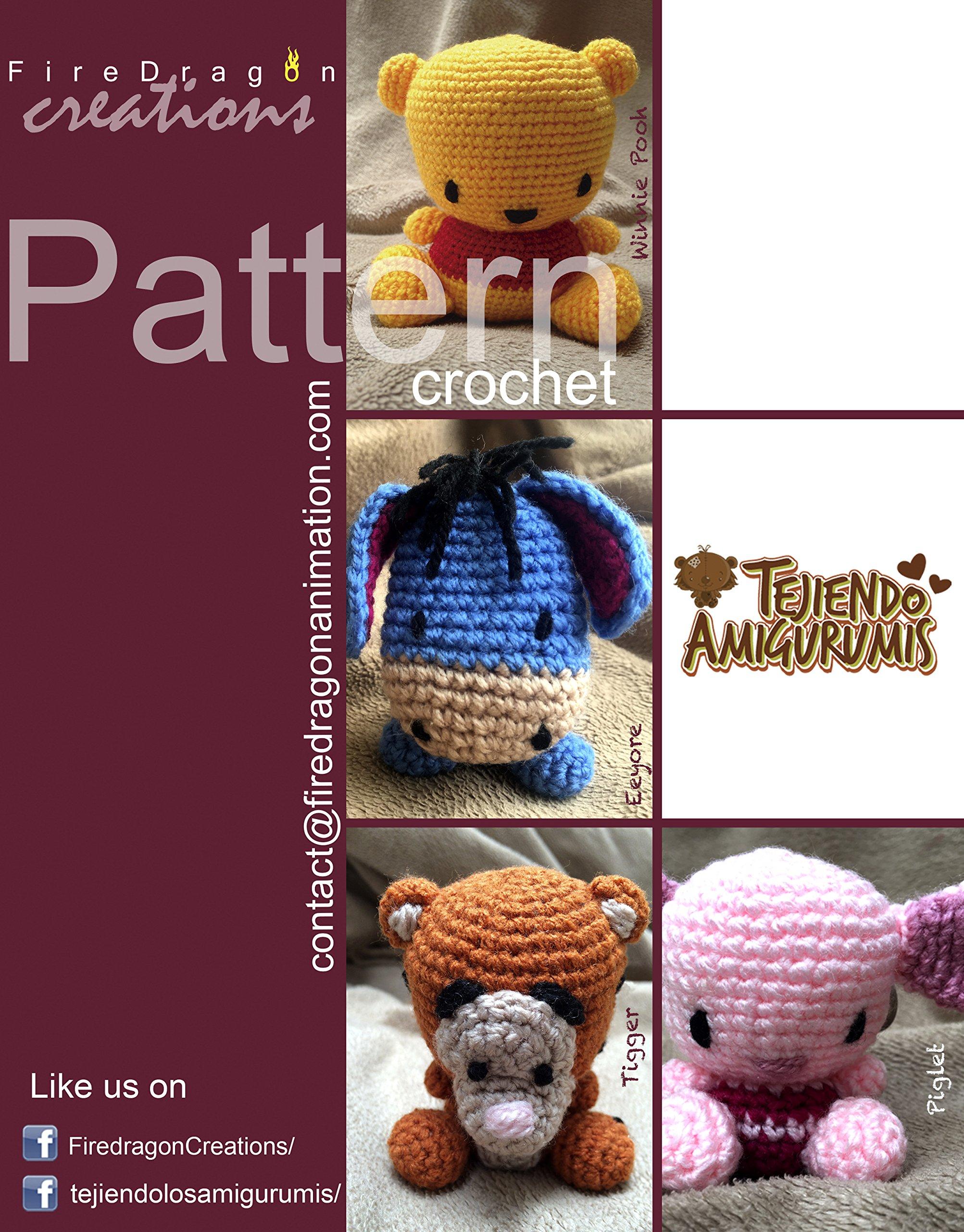 Crochet Amigurumi Winnie The Pooh Free Patterns | Crochet ... | 2560x2005