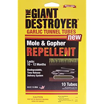 Atlas Chemical Corp 410 Chemical Mole/GOP Repellent (10 Pack), (10) 0.21 fl. oz. Tubes, Brown/A