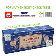 Satya Sai Baba Original Handmade Sticks from Bengaluru earthmarked Nag Champa Agarbatti 250 gm Hand Rolled in India, Fine ...