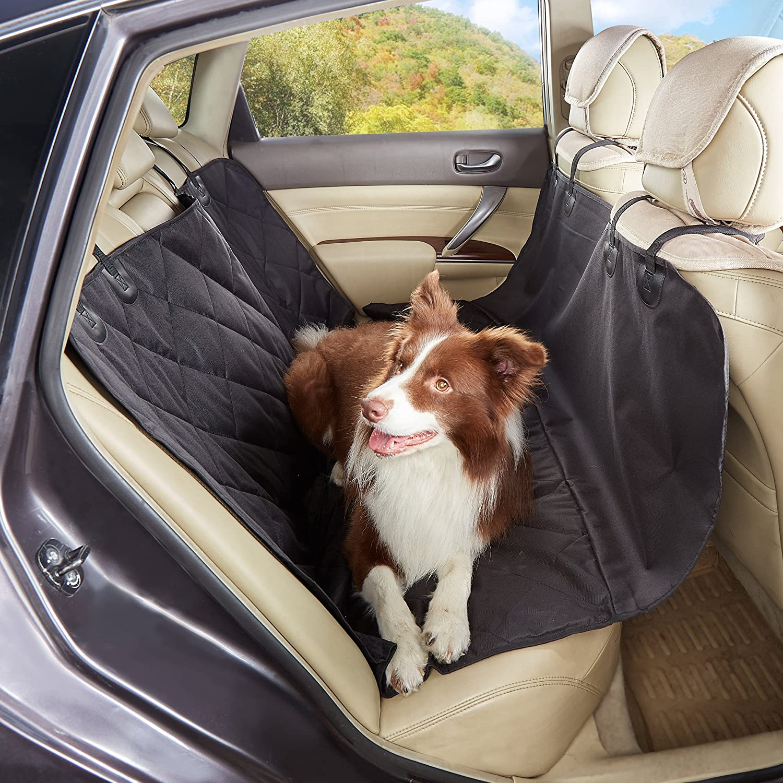 BATURU SUV Sedan CAR Waterproof pet car seat Black pet seat Cover Luxury car seat Covers 57X60in