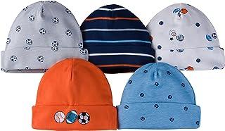 Gerber baby-boys 5 Pack Cap baby-bibs