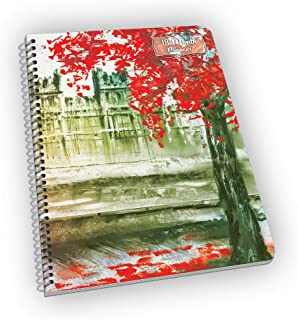 Undated 18-Month Planner with London`s Big Ben - Great Gift for Mom, Grandma, Sister and Aunt! - Undated