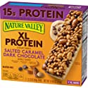 Protein One Nature Valley XL Protein Chewy Bar, Salted Caramel Dark Chocolate, 14.84 oz(us)