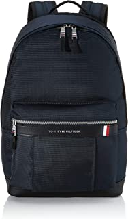 Tommy Hilfiger Erkek Elevated Nylon Backpack Canta ve Cüzdan Mavi (Sky Captain)