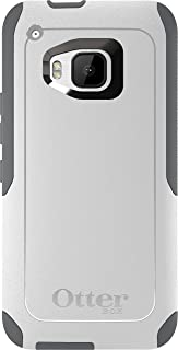 OtterBox Commuter Case for HTC One M9 - Retail Packaging - Glacier (White/Gunmetal Grey)