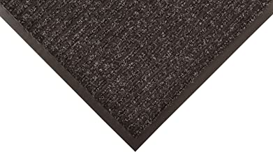 Notrax 117 Heritage Rib Entrance Mat, for Home or Office, 3'x6', Charcoal