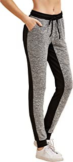 Women's Drawstring Waist Long Workout Yoga Active Pant with Pocket