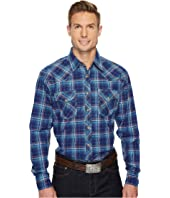 Wrangler - 20X Competition Ac Shirt Snap Plaid